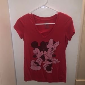 Mickey & Minnie T Shirt